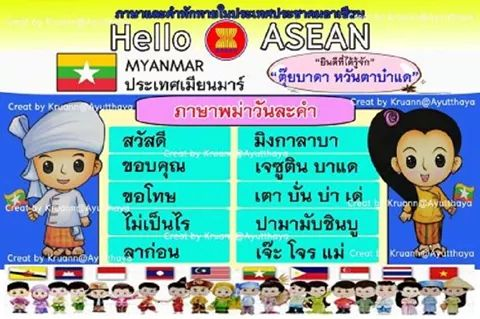How to say Hello in ASEAN LANGUAGES