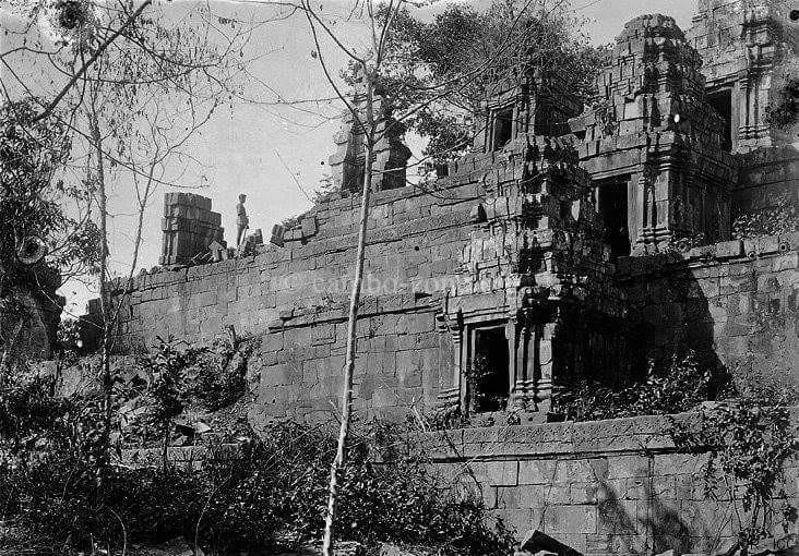 ปราาสาท ทะมอ(หิน)ของเขมร กว่าจะมาเป็นภาพสวย ๆ