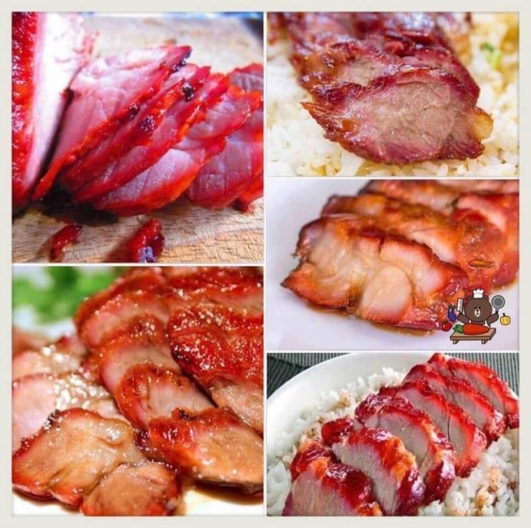 แจกสูตร วิธีทำ ข้าวหมูแดง (หมูแดง+น้ำราดหมูแดง)